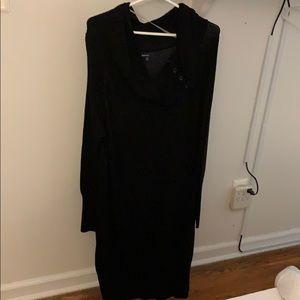 Plain Back Maternity Dress